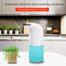 Load image into Gallery viewer, Bathroom Sink Table Auto Hands Free Foaming Soap Dispenser Hand Sanitizer 350ml Refillable