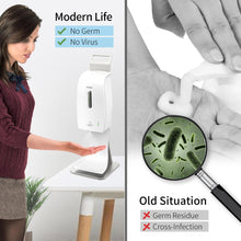 Load image into Gallery viewer, SVAVO Touchless Desk Stand Hand Sanitiser Dispenser Motion Sensor