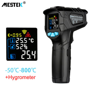 MESTEK IR01C digital thermometer humidity meter infrared thermometer hygrometer temperature humidity meter pyrometer