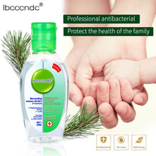 Load image into Gallery viewer, 50ml Travel Portable Hand Sanitizer Gel Anti-Bacteria Moisturizing Liquid Disposable No Clean Waterless Antibacterial Hand Gel