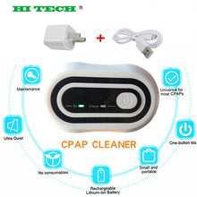 Load image into Gallery viewer, CPAP Sterilizer Cleaner Bag Aluminum foil liner Disinfector Respirator Sanitizer Ozone Sterilizer Apnea OSAHS OSAS with hose