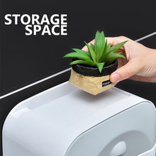 Load image into Gallery viewer, Waterproof Paper Towel Holder Toilet Paper Holder Wall Mounted Wc Roll Paper Stand Case Tube Storage Box for Toilet Paper