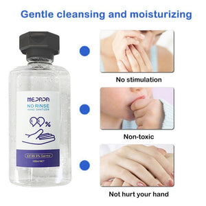 100ml Portable Spray Sterilization Disinfection Gel Household Disposable Hands-Free Water Disinfection Hand Sanitizer hot sale