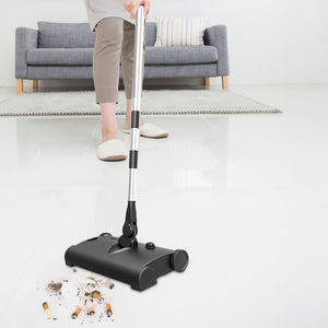 Flat Mop Floor Cleaning Mop for Home Household Wireless Sweeper Electric Mop Pusher Sweeper Vacuum Floor Cleaner Sweeper