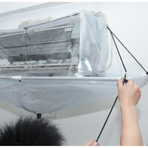 Open PVC Air Conditioner Wash Cleaning Cover Ceiling Wall Mounted Air Conditioning Cleaning Tools Cleaner Tool Covers