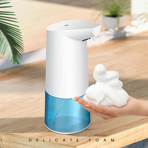 350ml Empty IR Automatic Sensor Soap Foam Dispenser Hand Sanitizer Soap Container With English instructions Home Supplies