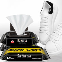 Load image into Gallery viewer, Disposable Shoe Wipes Small White Shoe Artifact Cleaning Tools Care Shoes Useful Fast Scrubbing Quick Clean Wipes