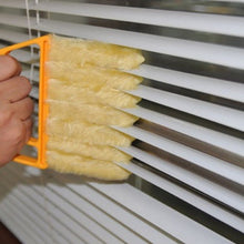 Load image into Gallery viewer, Microwave Cleaner Venetian Blind Cleaner Air Conditioner Duster Cleaning Brush Washing Windows Household Cleaning Tools