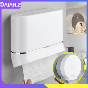 Toilet Paper Holder Creative Hand Roll Paper Towel Dispenser Wall Mount Bathroom Waterproof Tissue Box Cover Toilet Roll Holder