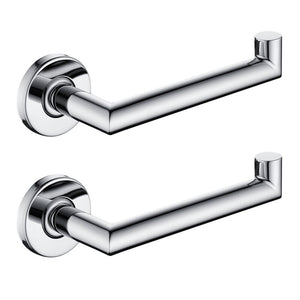 Free Shipping Toilet Paper Holder Wall Mount Tissue Roll Hanger 304 Stainless Steel Towel Rack Bathroom Accessories Silver Color
