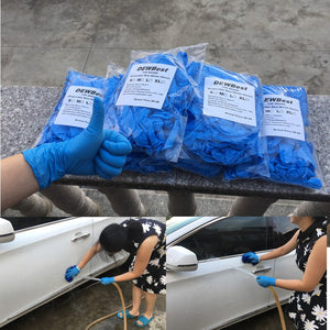Disposable Colored Medical Grade Exam Nitrile Glove for Examination FDA food Disposable working gloves
