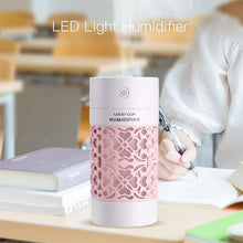 Load image into Gallery viewer, 250 ML Colour Cup Humidifier Mini Car Humidifier USB Air Fresheners with Night Light Function for Bedroom Home Office Car 2019