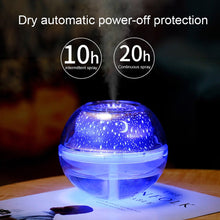 Load image into Gallery viewer, USB Night Lamp Air Fresheners Projector Air Humidifier Desktop Aroma Diffuser Ultrasonic Mist Maker