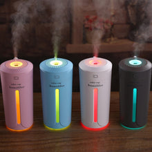 Load image into Gallery viewer, USB Air Freshener with Box Air Humidifier with 7 Colour Lights