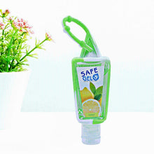 Load image into Gallery viewer, 30ML Random Color Reusable Mini Hand Sanitizer Fruit Scented Disposable No Clean Travel Portable Clean Moisturizing Safe Gel