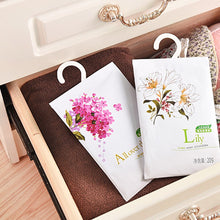Load image into Gallery viewer, 1Pc Air Fresheners Natural Incense Wardrobe Hanging Fragrant Flavor Bag Cabinet Drawer Car Wardrobe Spice Pockets