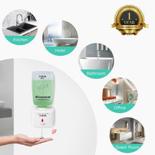 Load image into Gallery viewer, SVAVO Wall Automatic Liquid Soap Dispenser 750ml Intelligent Smart Hand Sanitizer Shower Liquid Soap Dispenser for Bathroom