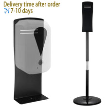 Load image into Gallery viewer, Hand Sanitizer Dispenser Floor Stand Lifting available