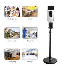 Load image into Gallery viewer, Touchless Hand Sanitizer Spray /Gel Disinfection Automatic Soap Hand Sanitizer Dispenser with stand For Home Public place