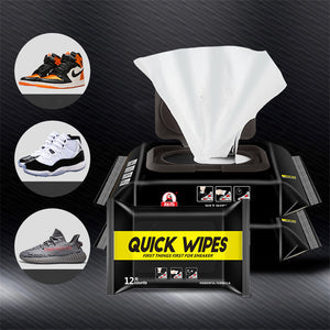 Disposable Shoe Wipes Small White Shoe Artifact Cleaning Tools Care Shoes Useful Fast Scrubbing Quick Clean Wipes