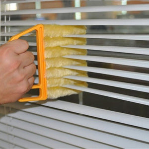 Microwave Cleaner Venetian Blind Cleaner Air Conditioner Duster Cleaning Brush Washing Windows Household Cleaning Tools
