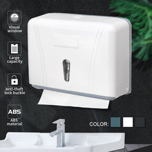 Load image into Gallery viewer, Waterproof Wall Mounted Toilet Paper Holder Organizer Hand Paper Towel Dispenser Tissue Box Holder Storage Box Bathroom Fixture