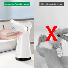 Load image into Gallery viewer, 200ml Infrared Sensor Soap Dispenser Hand Sanitizer Shampoo Lotion Dispensers Touchless For Kitchen