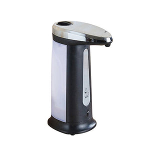 Liquid Automatic Soap Dispenser Smart Sensor Touchless Electroplated Sanitizer Dispensador Bottle For Kitchen Bathroom Dropship