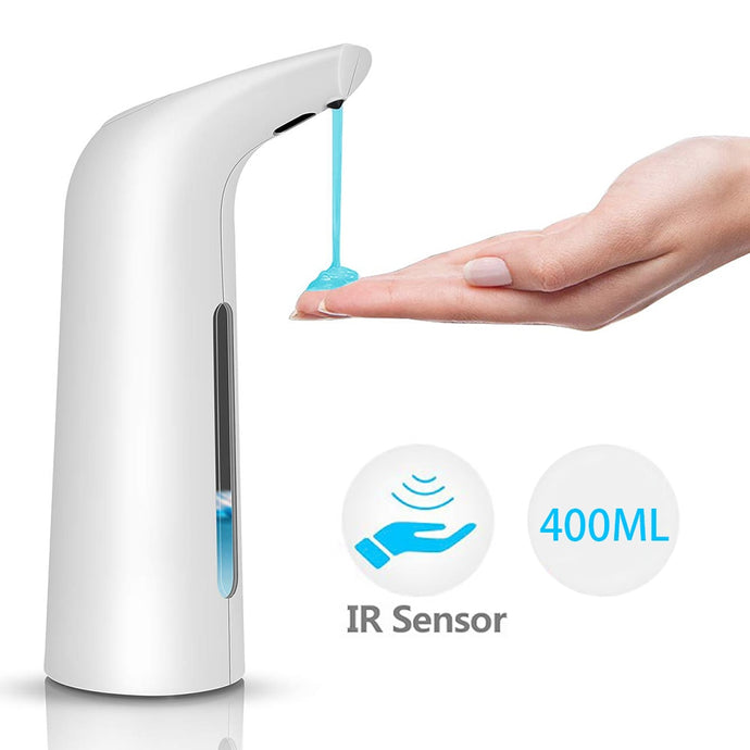 Soap Dispenser Automatic 400ML Electric Soap Dispenser Sensor Infrared Foaming Hand Washer Soap Dispensers For Bathroom Kitchen