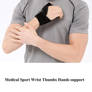 Medical Wrist Thumb Gloves Hands Spica Splint Support Brace Stabilizer Arthritis 1 PC Mittens