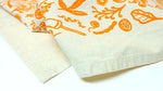 Tea Towel - Autumn Orange