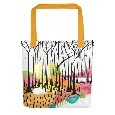 A Coyote's Dream Tote Bag