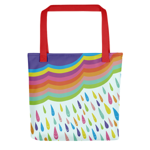 Happy Rainy Day Tote Bag