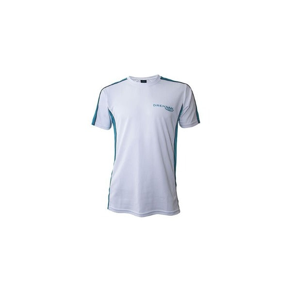 DRENNAN Performance T Shirt White