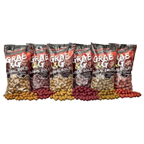 G&G GLOBAL BOILIES 20mm Starbaits 1kg