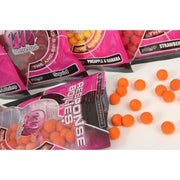 BOILIES MAINLINE 200GR 10mm STRAWBERRY ZEST