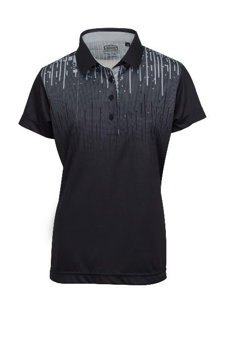 MATRIX PRINT DRY TECH PERFORMANCE GOLFE SHIRT