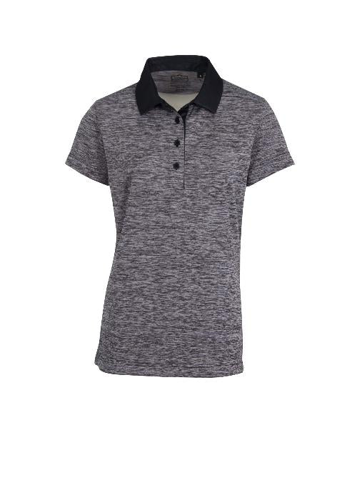 SPACE - DYED DRY TECH PERFORMANCE GOLF SHIRT