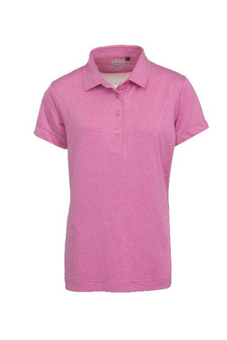 LADIES MELANGE DRY TECH PERFORMANCE GOLF SHIRT