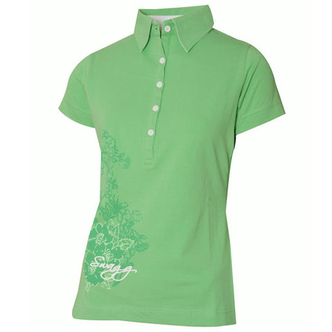 WOMENS COTTON RICH POLO