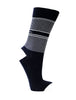 COLLEGIATE STRIPE SOCK