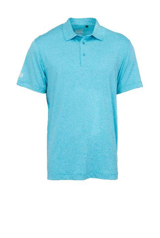 GENTS MELANGE DRY TECH PERFORMANCE GOLF SHIRT