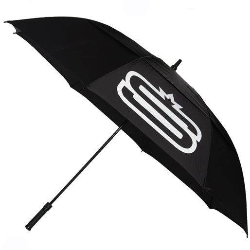 BRANDED BLACK UMBRELLA