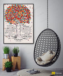 To My Daughter - From Dad - Framed Canvas Gift DD001