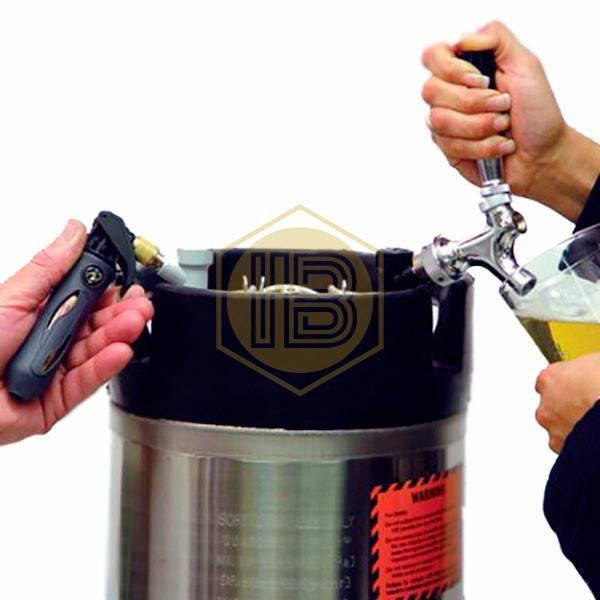 Pack cargador CO2 Corny Keg - Install Beer