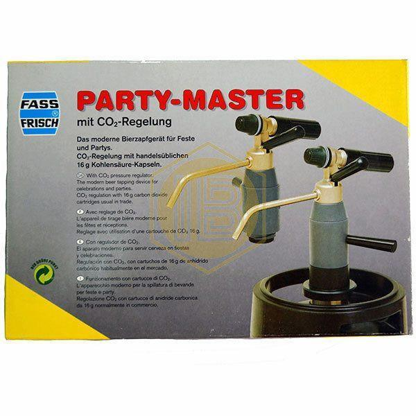 Party Master con regulador de CO2 (descatalogado) - Install Beer