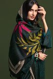 41901070-Linen & Mix Wool - Black Printed 3PC