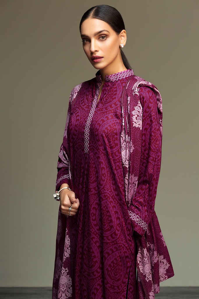 41901083-Linen-Purple Printed 2PC