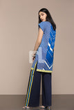 41906023-Lawn - Blue Printed 2PC