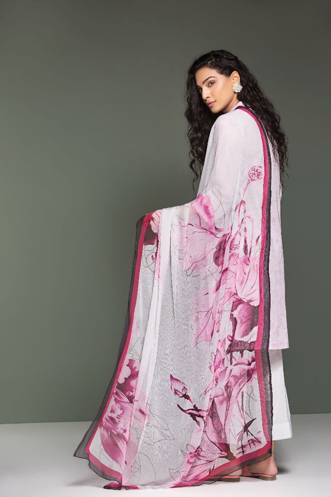 41906109-Lawn & Krinckle Chiffon – Pink Printed Embroidered 3PC